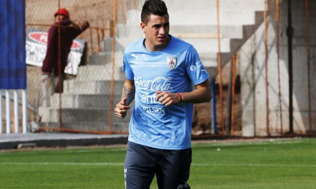 """Josema"" Giménez sigue trabajando para llegar al debut. Foto: Reuters."
