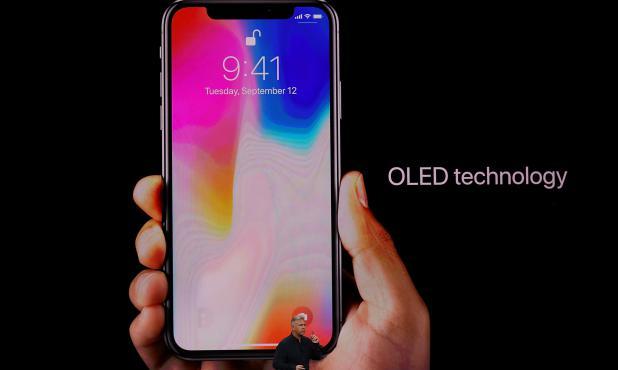 Apple presentó su nuevo iPhone X. Foto: AFP