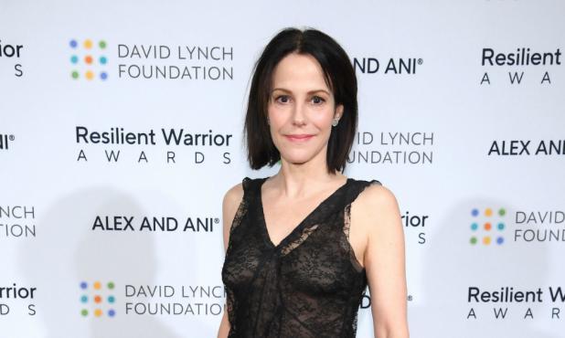 Mary Louise-Parker en un evento de la Fundación David Lynch