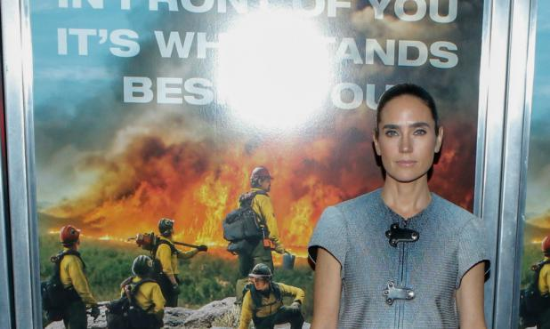 La actriz Jennifer Connelly en la presentación de su nueva película