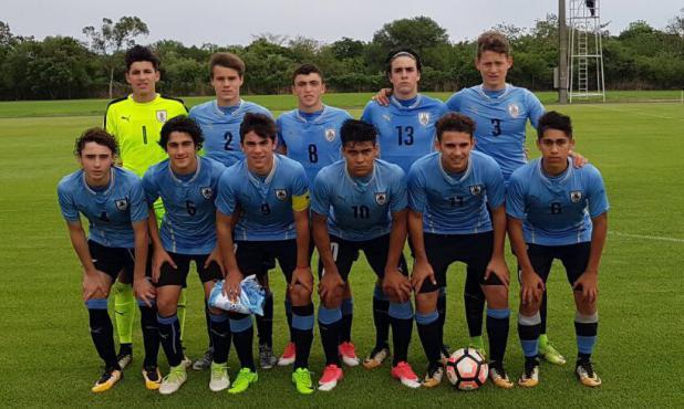 La alineación de Uruguay en el amistoso ante Paraguay de este jueves 19 de octubre. Foto: Prensa AUF
