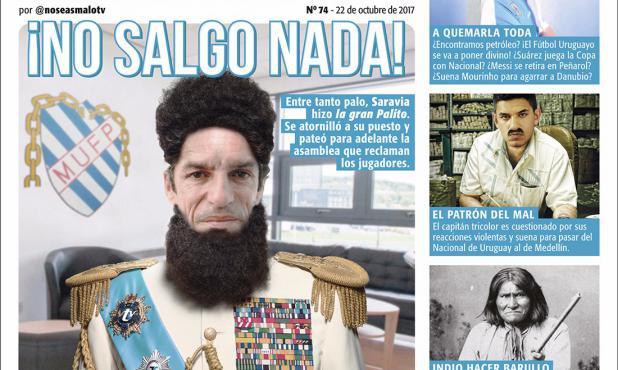 La otra tapa de No Seas Malo (21/10/2017).