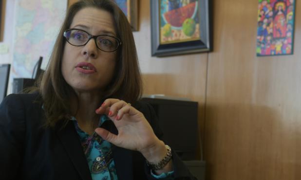 Kelly Keiderling, embajadora de Estados Unidos en Uruguay. Foto: Francisco Flores.