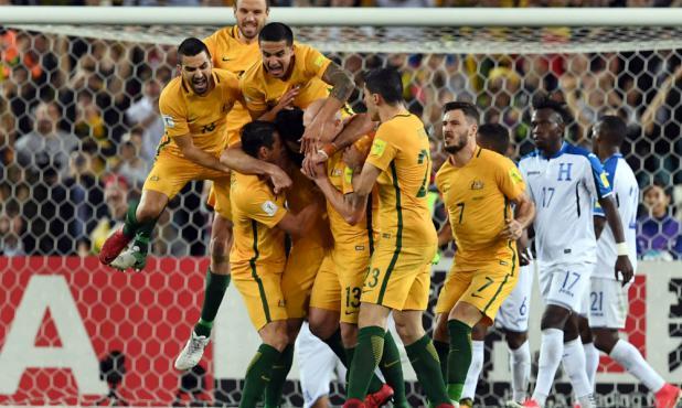 Australia clasificó a la Copa del Mundo