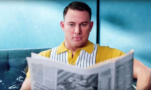 Channing Tatum en el video de Pink