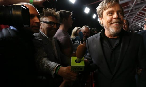 No empieza la fiesta hasta que Luke Skywalker no llega