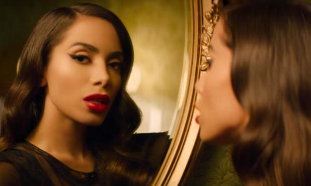 """Anitta en el videoclip de """"Downtown"""". Foto: difusión"""
