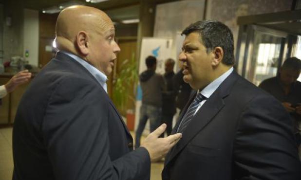 José Luis Rodríguez y Jorge Barrera. Foto: Archivo El País.