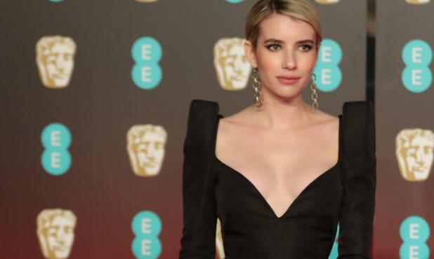 Emma Roberts, marcando tendencia en los Bafta