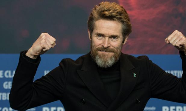 Willem Dafoe recibió el Oso de Oro de Honor en la Berlinale