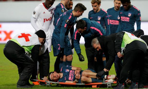Filipe Luis sufrió fractura de peroné y se perderá el Mundial