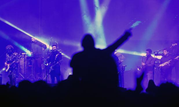 No Te Va Gustar en el Cosquín Rock 2019. Foto: Fernando Ponzetto