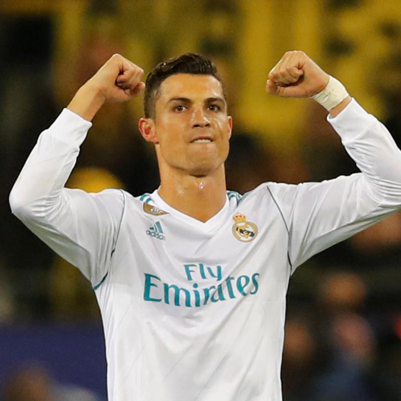 Real Madrid golea al Eibar y es tercero en España