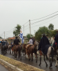Marcha hacia Arbolito. Foto: Néstor Araújo