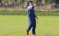 Jorge Giordano. El estratega de Juventud prepara a sus futbolistas. Foto: Leonardo Carreño