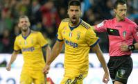 Sami Khedira festejando el gol de la Juventus. Foto: AFP
