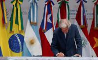 Vázquez participó de la conferencia de la OMC. Foto: EFE