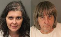 Los padres fueron identificados como David Allen Turpin y Louisie Ann Turpin. Foto: AFP