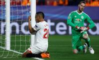 De Gea salva al United del Sevilla. Foto: Reuters