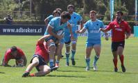 Los Teros vs. Los Cóndores. Uruguay vs. Chile. Foto: @RugbyUruguay
