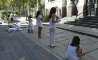 Caída de las campanas en la Suprema Corte de Justicia. Foto: Marcelo Bonjour