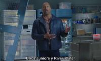 Dwayne Johnson le manda un mensaje a Boca y River