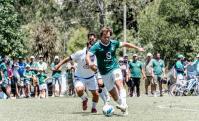 Partido de Liga Universitaria entre Tenis El Pinar y Playa Honda. Foto: Prensa Liga Universitaria.